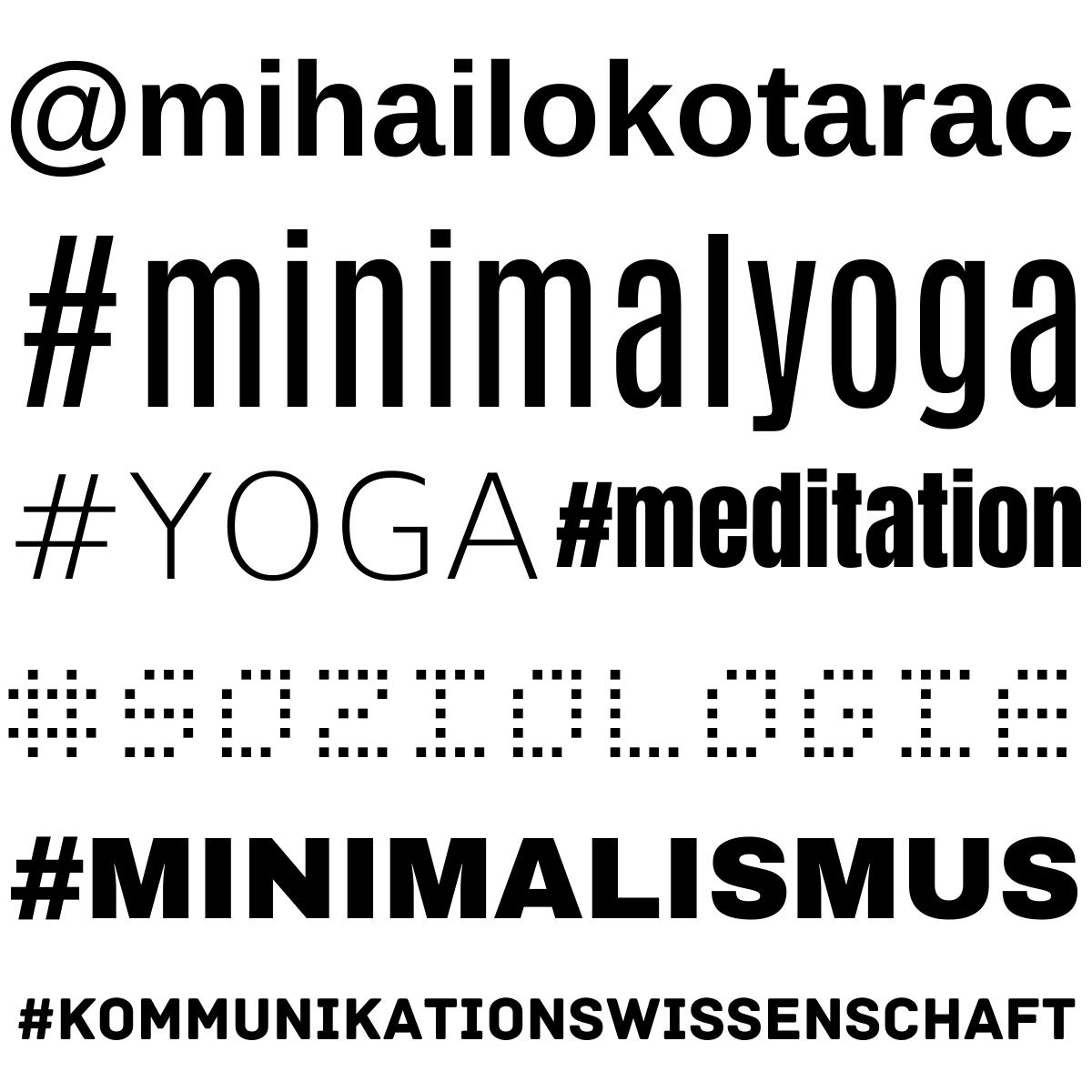 Mihailo Kotarac - Minimal Yoga - Deutsch