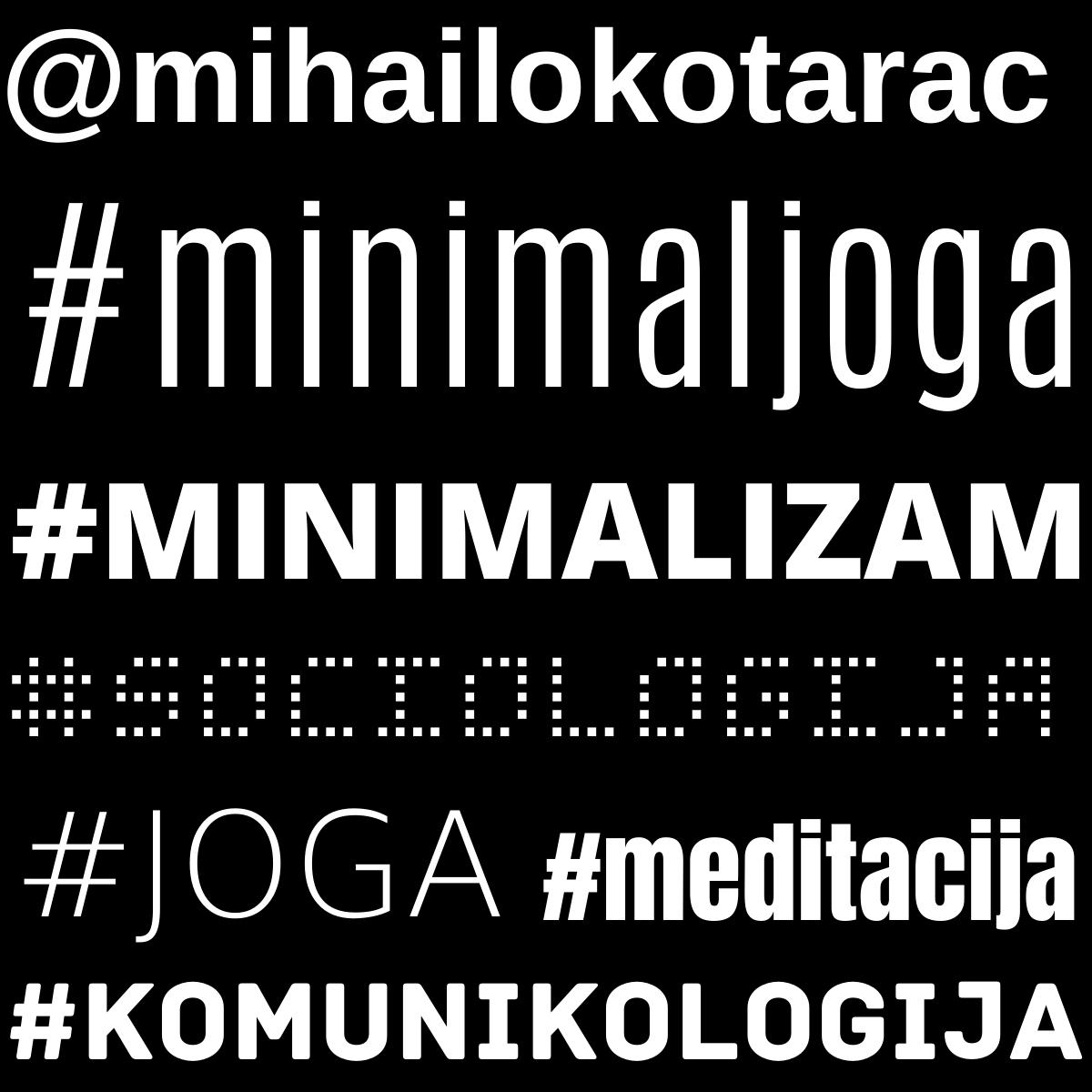 Mihailo Kotarac - Minimal joga - Srpski